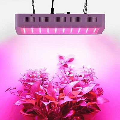 Roleadro 300w LED Grow Light Full Spectrum For Plants Veg And Flower,With Daisy
