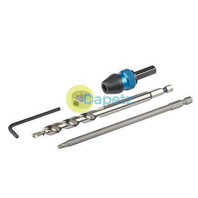 "Quick Change Pocket-Hole Kit Includes quick Change Chuck 152mm (6"") Driver"