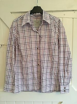 ladies check shirt size 14