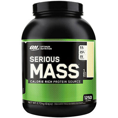 Optimum Nutrition Serious Mass 2.73kg - Banana