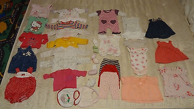 BIG baby girl clothes bundle 0-3 months - 35 items!!!
