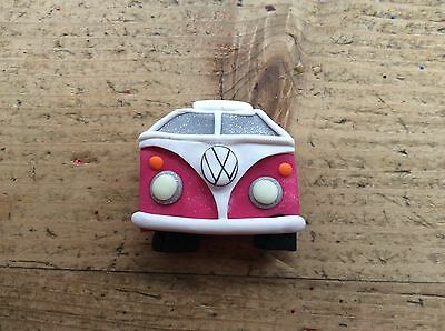 Magnet Campervan Handmade FridgeBus Van Dub Glow In The Dark Retro Split screen