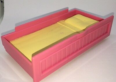 Fisher Price Loving Family Kid's Bedroom H7218 Bed Trundle Pink Yellow Replaceme