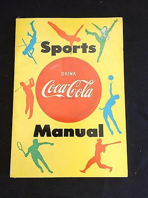 1955 Coca Cola Sports Manual VTG Advertising Booklet Masthead Corp/Don Spencer