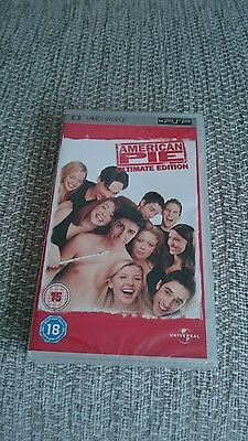 American Pie Ultimate Edition -*- Psp -*- Umd -*- New And Sealed -*- Rare -*-