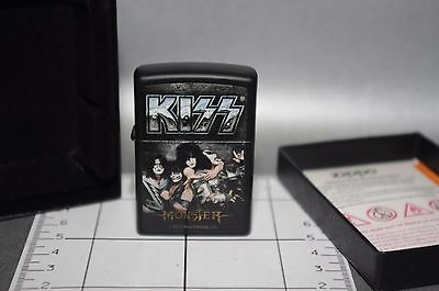 Zippo Lighter Briquet Kiss Edition Limited Feuerzeug Accendino Black Aansteker