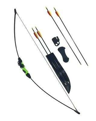 New Wildcat Kids Childs Archery Beginners Recurve Bow and Arrow Set + 6 Arrows