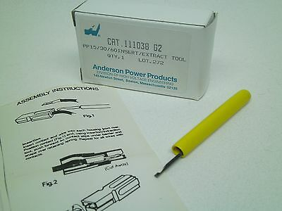 New Anderson Pp15/30/60  Powerpole Extraction Insertion / Removal Tool 111038G2