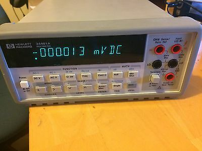 HP Agilent 34401A Multimeter