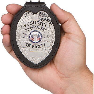 Security Enforcement Officer Badge & Holder. Great for any security guard.