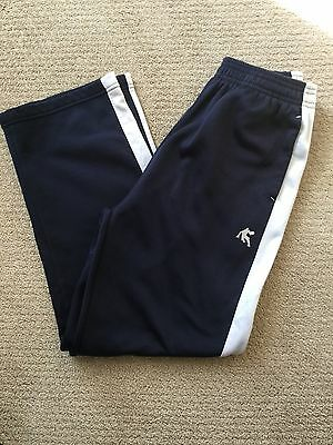 Boys AND1 Sweat Athletic Pants Size Large 10-12 Dark Navy Blue Fleece Lined New