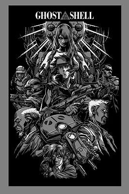 Ghost In The Shell - Iaccarino Variant - Limited edition art print Nt Mondo