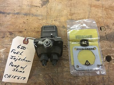 John Deere 650 Tractor Fuel Injection Pump with Shim