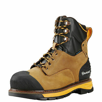 """Ariat 10018534 Catalyst 8"""" H2O Composite Safety Toe Waterproof EH Rated Boots"""