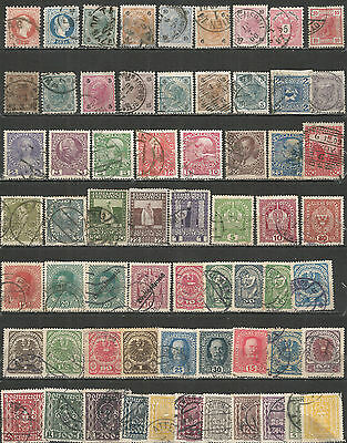 Austria from 1867 year  nice Collection used stamps