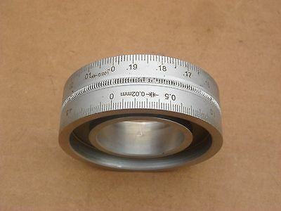 Index Ring Imperial & Metric For Lathe Or Milling Machine
