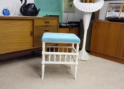 Shabby Chic Edwardian Piano Stool New Designers Guild Upholstery