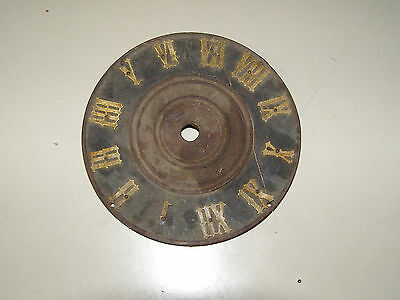 Antique Coo Coo clock dial from a Faller clock c1900 has repairable crack 4 1/4""