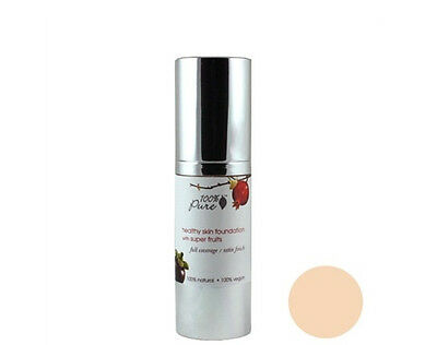 Brand New 100% Pure Healthy Skin Foundation Super Fruits Sun White Peach 1oz