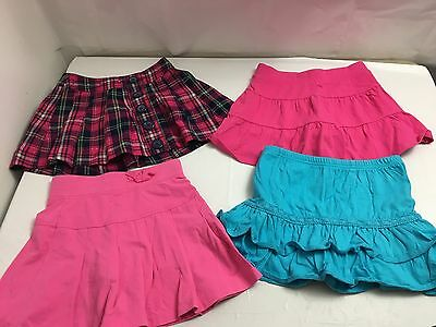 Euc Girls Mixed Skirt / Skort Clothing Lot Size 6 Justice Children's Place