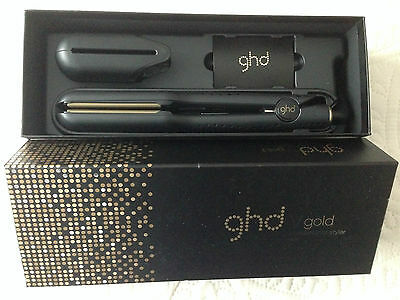 GHD V Gold Professional Styler Max Hair Straighteners New