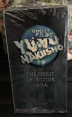 New Sealed NOS Yu Yu Hakusho The Spirit Detective Saga 7 VHS Box Set Anime OOP