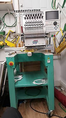 Tajima TEMX-C1501 embroidery machine