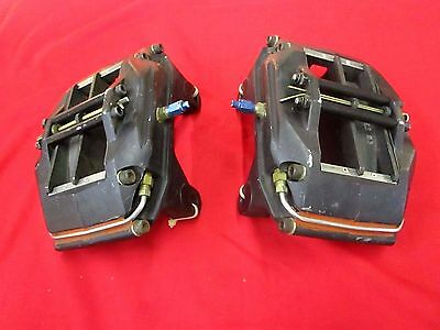 Pair Of Wilwood Superlite Ah-120 4571 Brake Calipers & 83 Compound Pads, Nascar