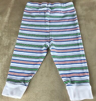 Garanimals Boys Size 3-6 Month Sleep/Casual Stretchy Pants Multi Color Striped