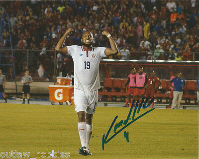 Costa Rica Kendall Waston Autographed Signed 8x10 Photo COA