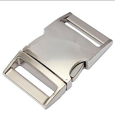 Hot Sale Metal side release buckles for  bracelets curved top Fashion CA