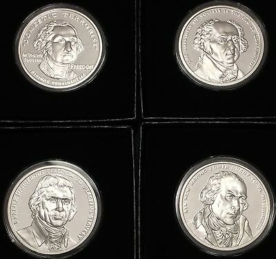 2017 The Presidents of the United States #1 - 4 Proof Set 4 oz - Silver Shield