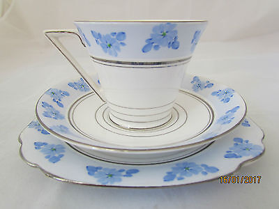 Vintage English Standard China bone china trio - cup, saucer & plate
