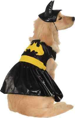 Batgirl Batman Superhero Cute Black Fancy Dress Up Halloween Pet Dog Cat Costume