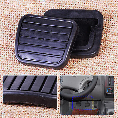 Fit Great Wall V200 K2 2.0L: 2pcs Rubber Car Clutch Brake Pedal Pad Rubber Cover