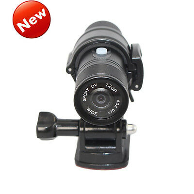 NEW HD 1080P Mini Metal Fire Proof Camera Helmet Cam Firefighter Water Resistant