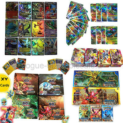 NEW Wholesale Pokemon Cards Set Pokemon Go TCG EX Common Card Bundle EX, MEGA
