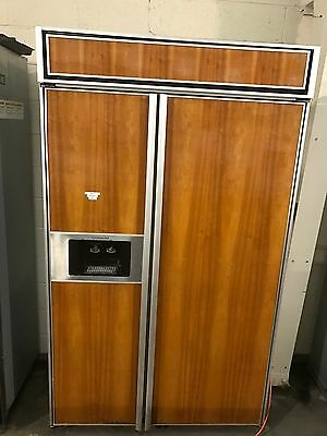 48 Inch Built In Refrigerator Kitchenaid Panel Ready