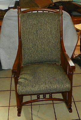 Magnificent Oak Virginia House Rocker Rocking Chair R230 359 10 Gmtry Best Dining Table And Chair Ideas Images Gmtryco