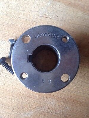 "New Browning H1 Split Taper Hub 1"" Bore Adapter Never Installed Free Shipping"