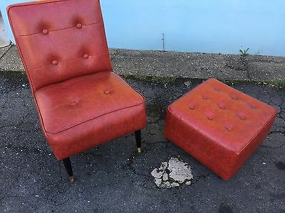 vintage retro 1960s Chair Can Post If Needed Too
