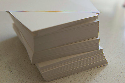 Cream Sheen Metallic Paper 120GSM (Pack of 50) Bulk - 15.0cm x 9.9cm