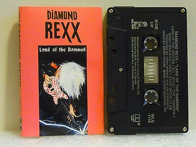 DIAMOND REXX Land of the Damned (DEBUT ALBUM. No longer in print.)