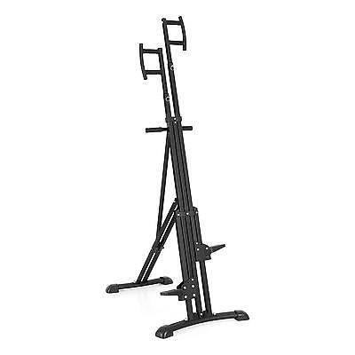 Gym Excercise Machine Stepper Stair Cardio Training Home Climb Total Body Black