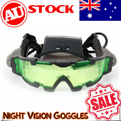 Night Vision Goggles Adjustable LED Windproof Anti-stamping Glasses Eye-glasses