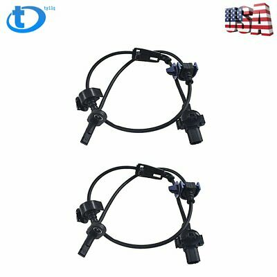 2 pcs Front Right / Left ABS Wheel Speed Sensor Fit for 2006-2011 Honda Civic
