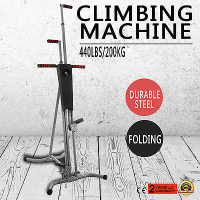 LCD Gym Climber Stepper Climbing Machine  Equipment Home Aerobic STRONG PACKING