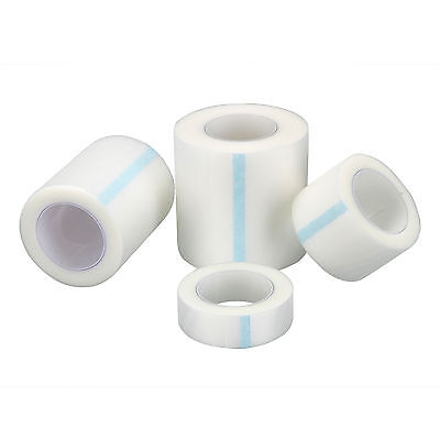 1.25/2.5/5cm Clear Adhesive Tape Wound Dressing Medical Fixation Tape Bandage GG