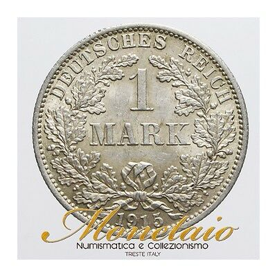 (Monetaio) Germany Wilhelm II 1 Mark 1915 A Silver KM# 14