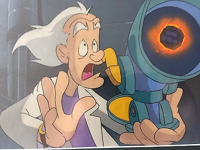 Back To The Future Animation Production Cel